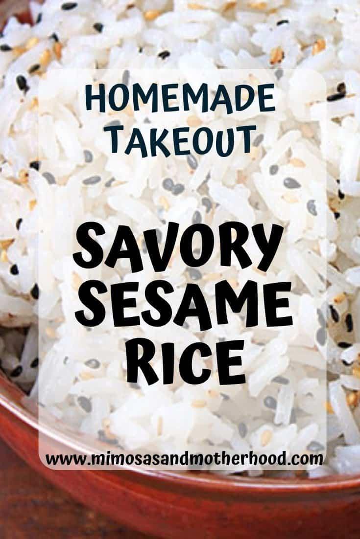 Savory Sesame Rice
