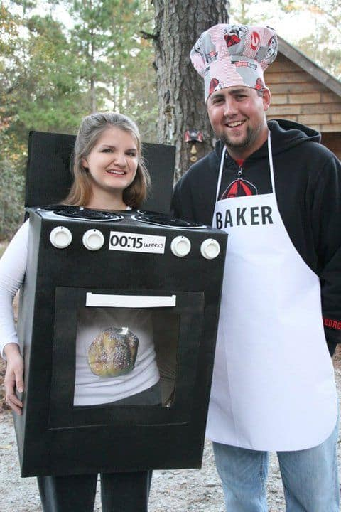 bun in the oven pregnancy costume