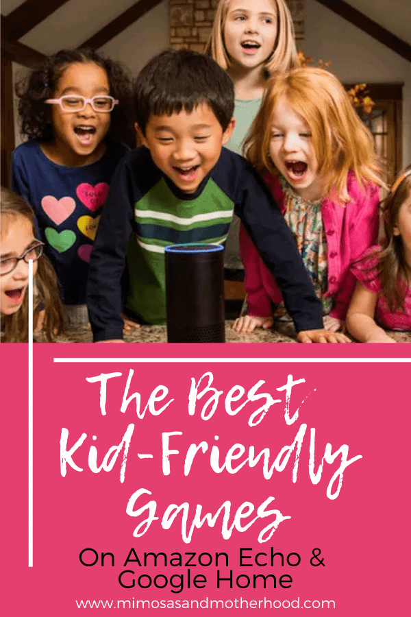 Best Kid-Friendly Games on Amazon Echo & Google Home