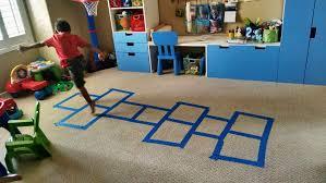 indoor hopscotch board