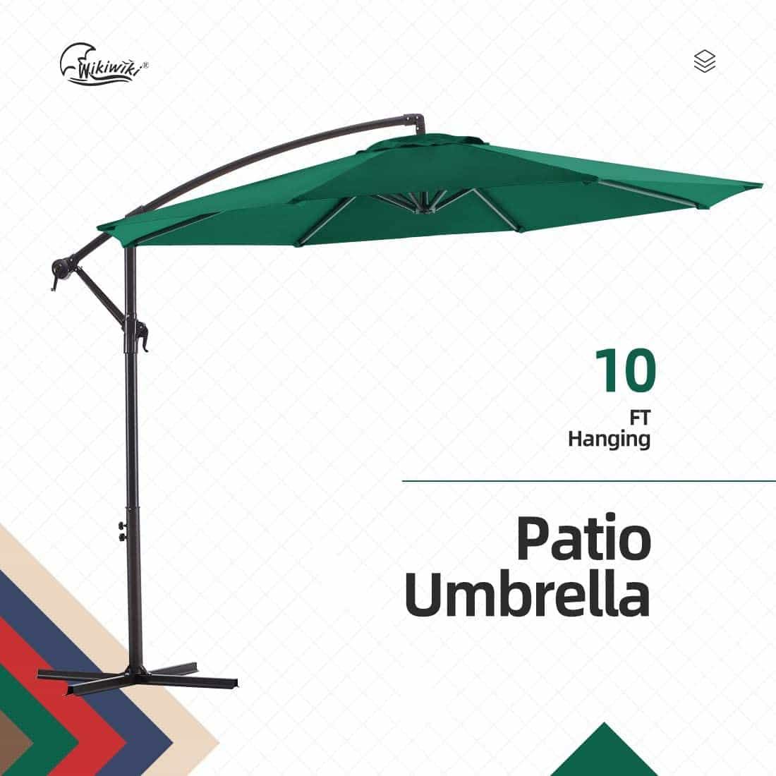 10 ft cantilever umbrella