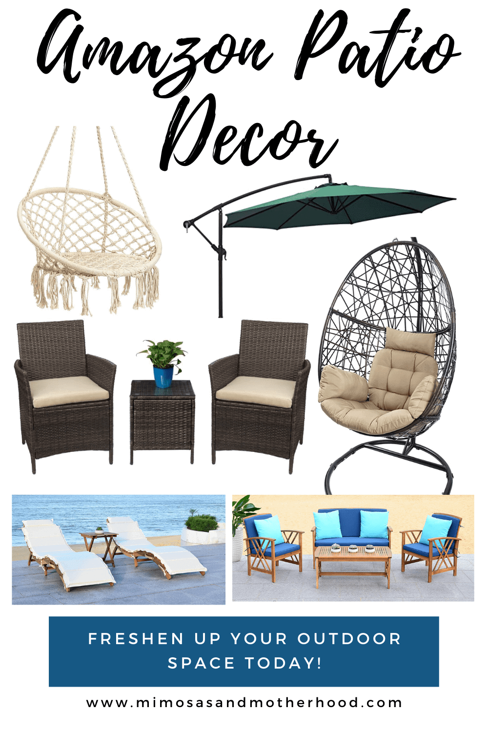 Best Amazon Patio Decor