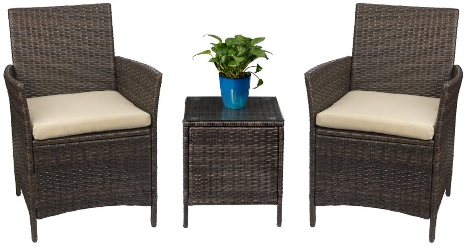 Rattan Wicker Patio Set