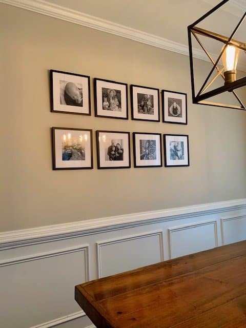 How to create an easy gallery wall