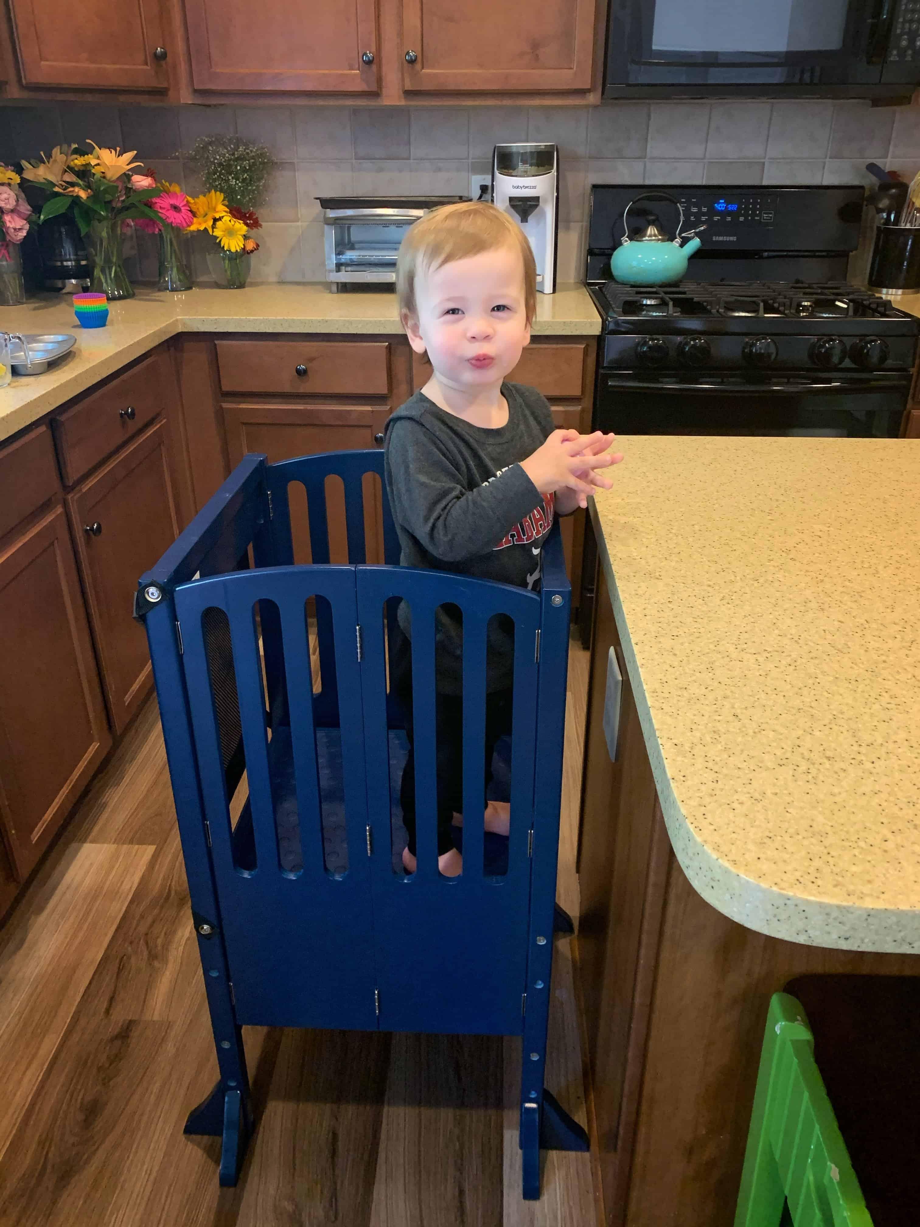 Kids Kitchen Stool