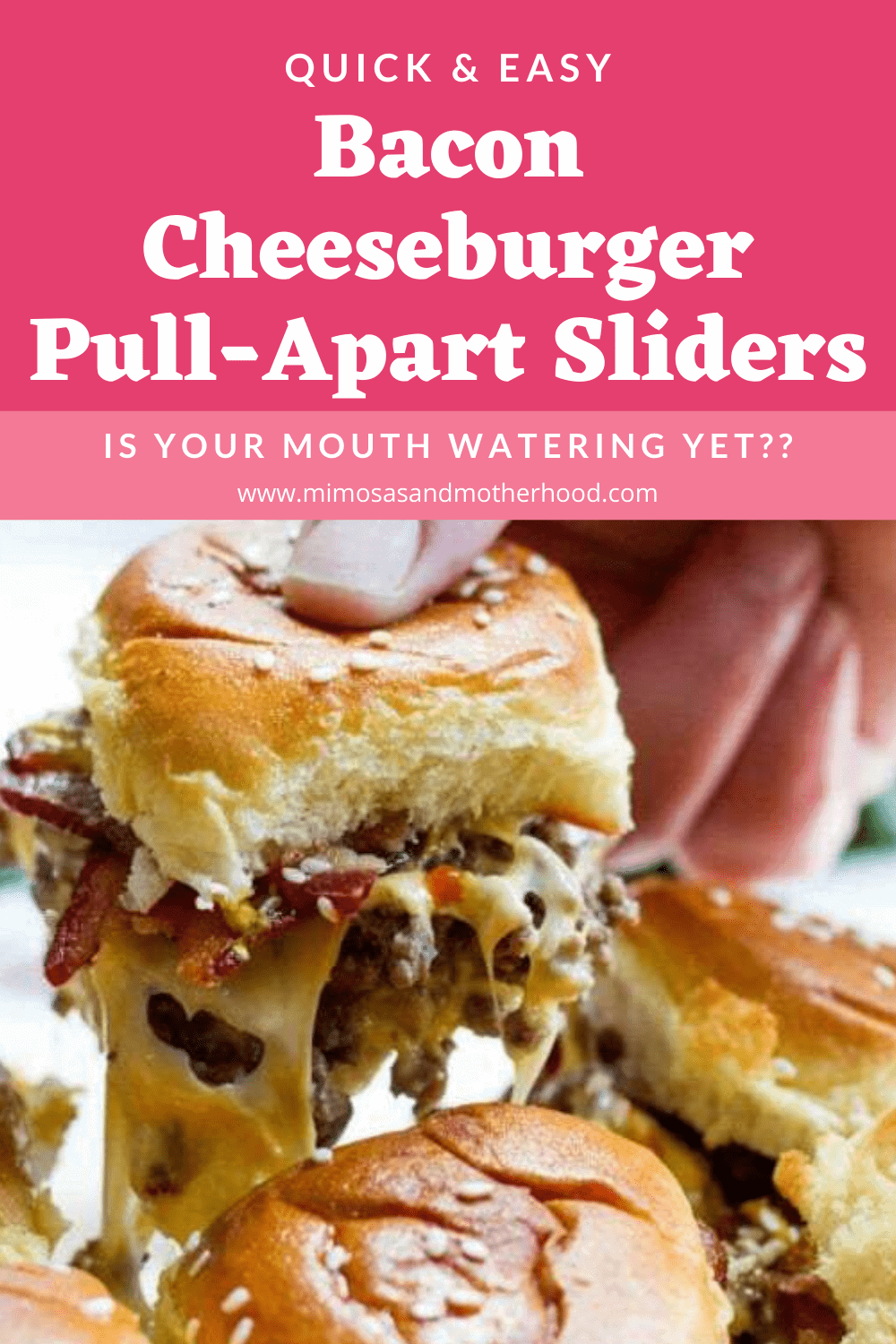 Bacon Pull Apart Sliders
